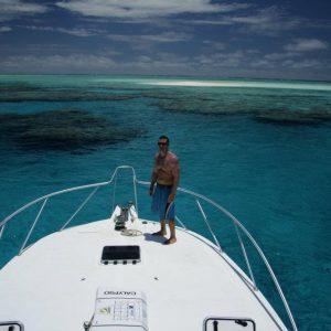 Calypso on the Reef